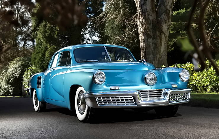 Tucker 48 blue front