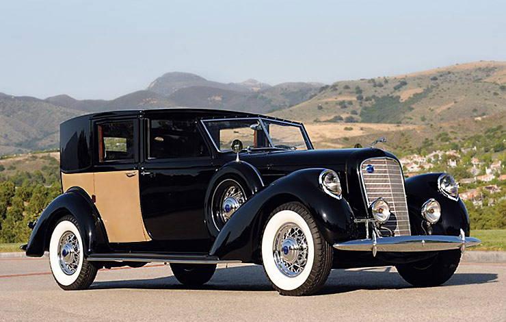 1937 Lincoln Model K Panel Brougham