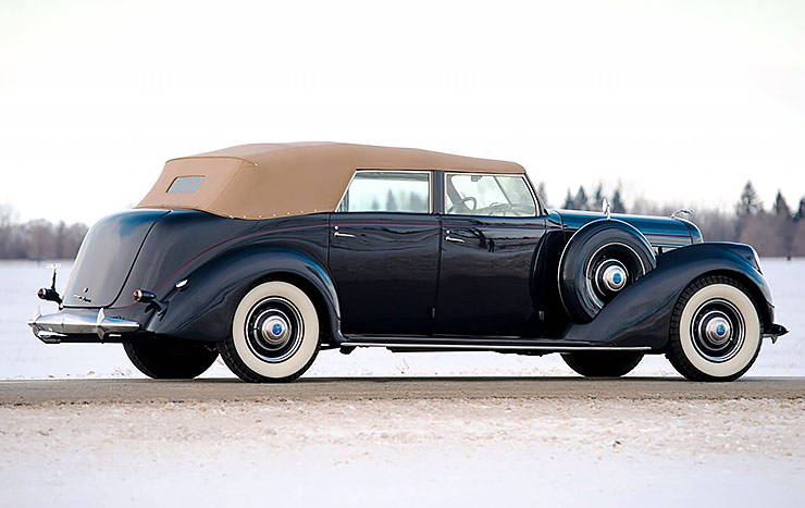 1937 Lincoln Model K Convertible Sedan
