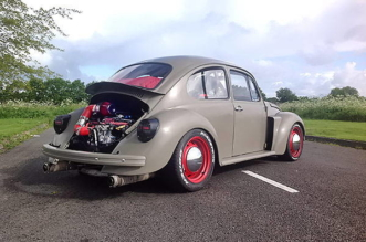 1972 VW Beetle with Subaru WRX STi engine
