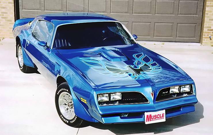 1978 Pontiac Trans Am hood decal