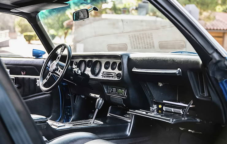 1978 Pontiac Trans Am interior