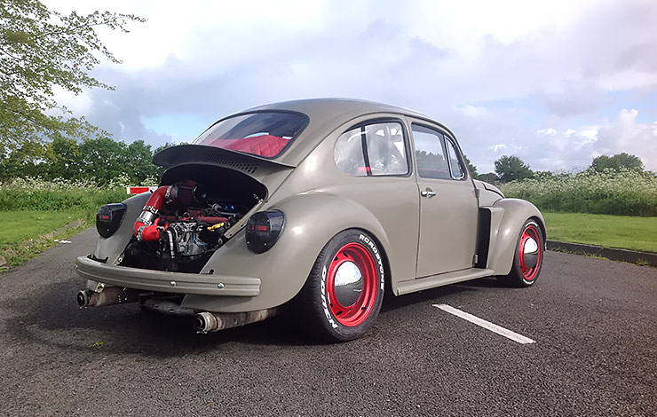 350 HP 1972 VW Beetle with Subaru WRX STi engine