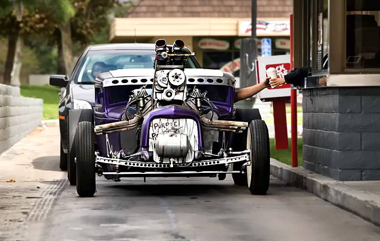 Markys Purple People Eater Hot Rod