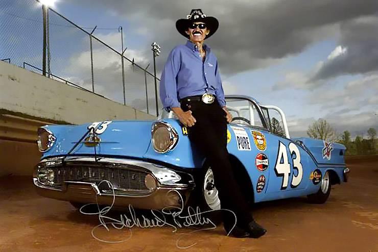 Richard Petty signed photo