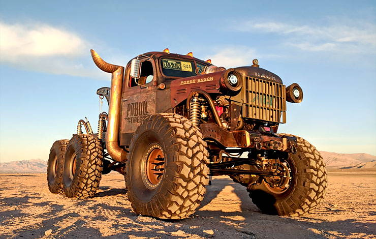 The Wrecker Power Wagon by Hauk Designs