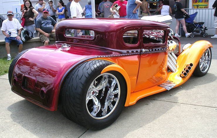 1930 Ford Model A Coupe Hot Rod ABSURD rear right
