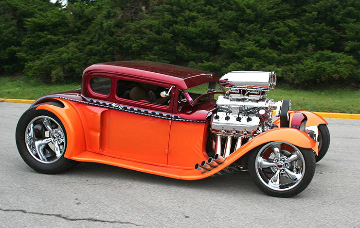 1930 Ford Model A Coupe Hot Rod ABSURD right