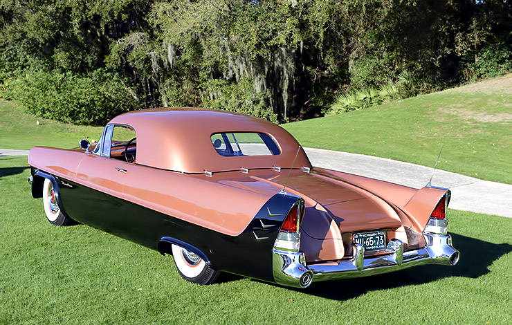 1954 Packard Panther-Daytona Roadster rear end
