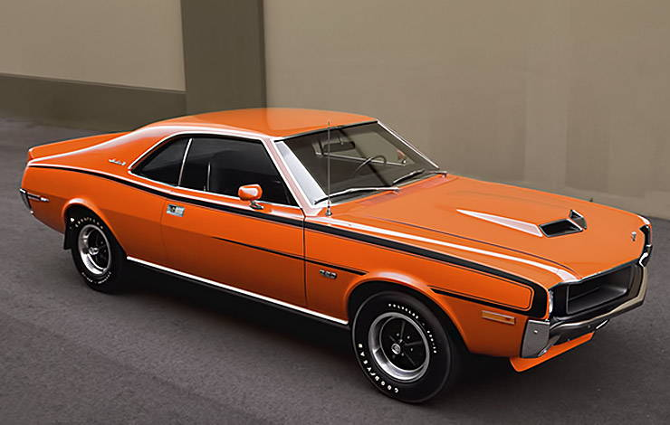 1970 AMC Javelin SST Mark Donohue front right