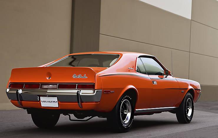 1970 American Motors AMC Javelin SST Mark Donohue rear right