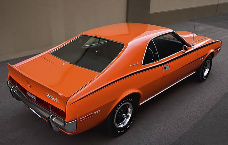 1970 American Motors AMC Javelin SST Mark Donohue rear