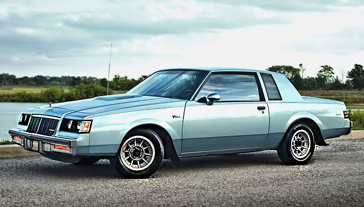 1985 Buick Regal T-Type