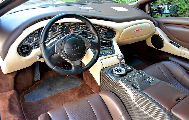 Lamborghini Diablo VT 6.0 Special Edition Interior