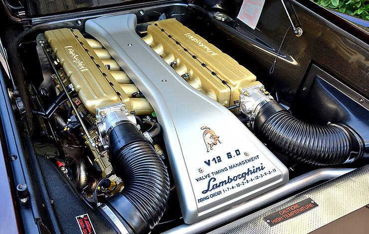 Lamborghini Diablo VT 6.0 Special Edition motor