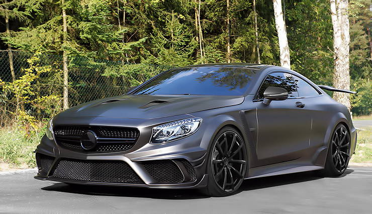 Mercedes S63 AMG Coupe Mansory Black Edition