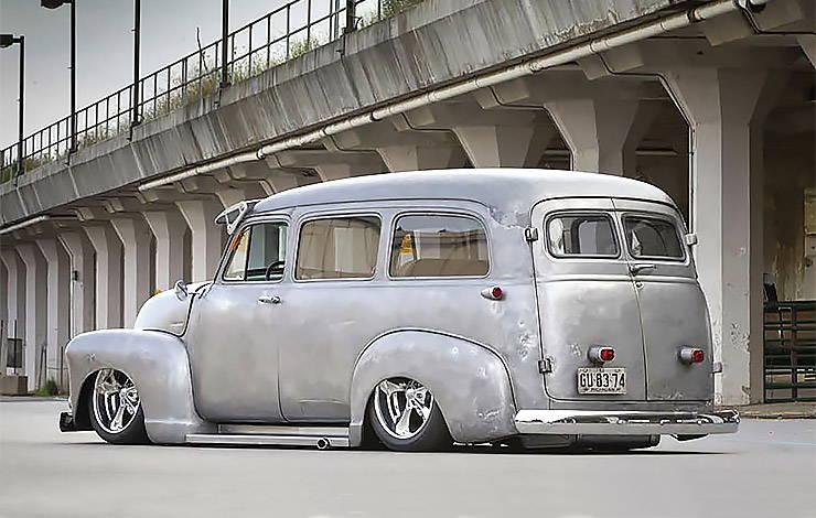 1952 GMC Suburban rear