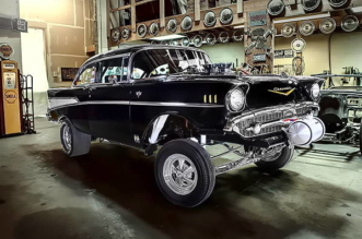 1957 Chevrolet Bel Air gasser