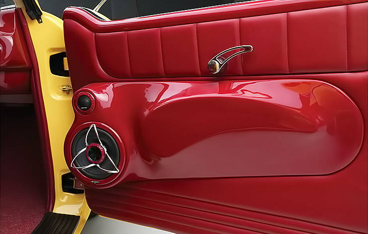 1960 AMC Metropolitan KICKER door panel