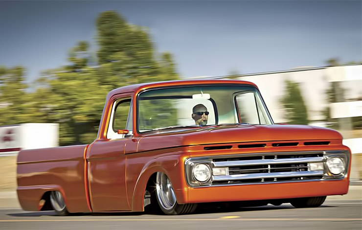 1961 Ford F-100 Kick Down front right