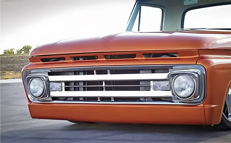 1961 Ford F-100 grille from 1962 Ford F-100