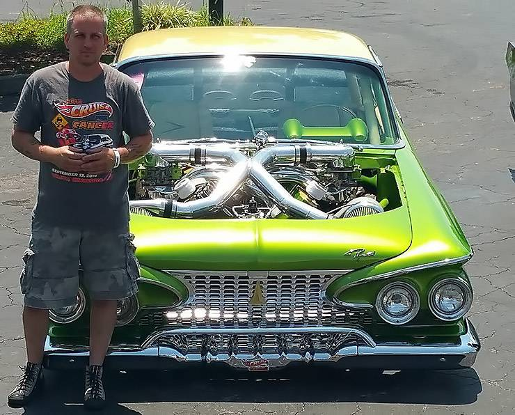 Tony Netzel's twin-turbo Plimouth Belvedre
