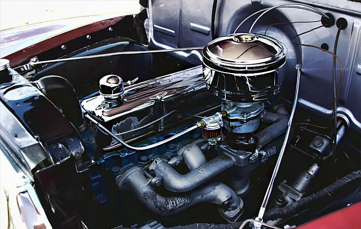 1952 Chevrolet 3100 235ci engine