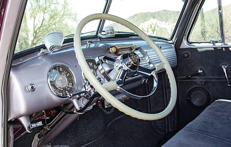 1952 Chevrolet 3100 El Mariachi Loco dashboard
