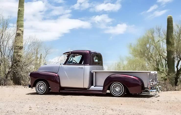 1952 Chevrolet 3100 El Mariachi Loco driver side