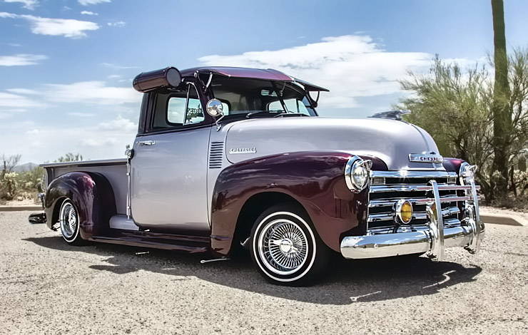 1952 Chevrolet 3100 El Mariachi Loco right side