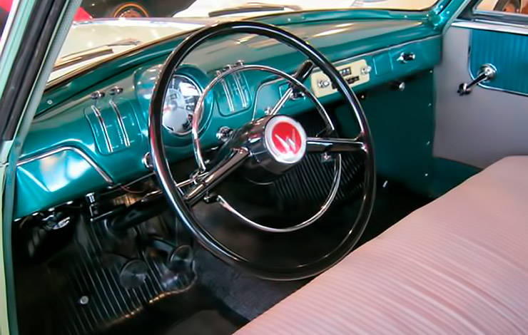 1955 Willys Bermuda hardtop interior