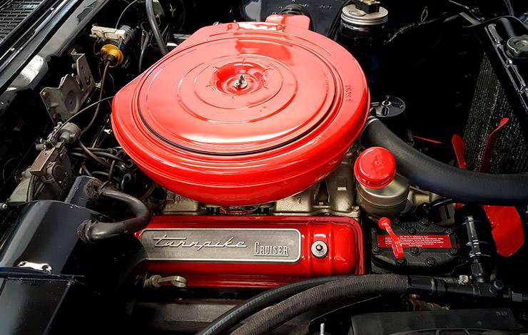 1957 Mercury Turnpike Cruiser engine