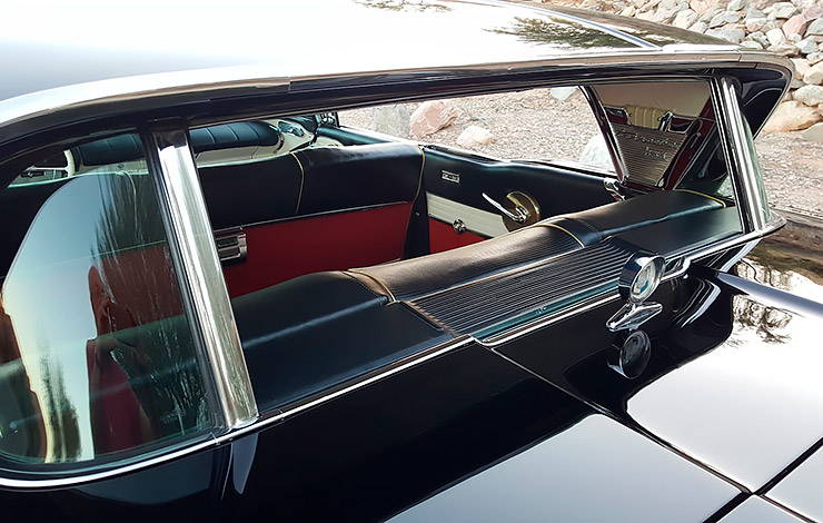 1957 Mercury Turnpike Cruiser rear window