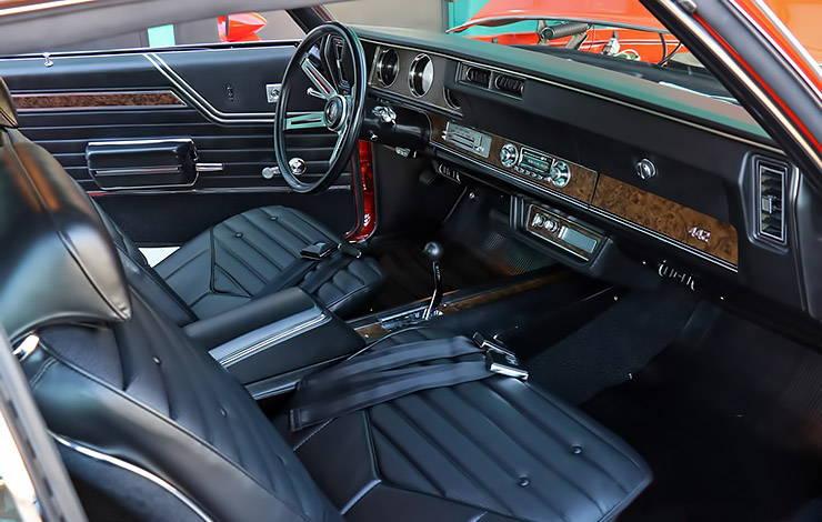 1970 Oldsmobile 442 W-30 interior