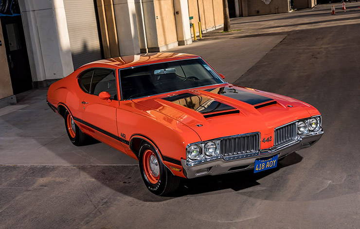 1970 Oldsmobile 442 W-30 top front right