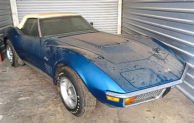 1972 Corvette 454 Convertible with less than 1000 miles