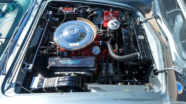 1955 Ford Thunderbird engine