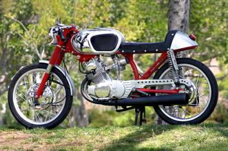 1966 Honda CB160 Poco Bastardo