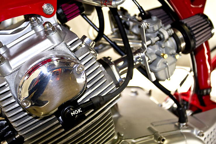 1966 Honda CB160 Poco Bastardo motor