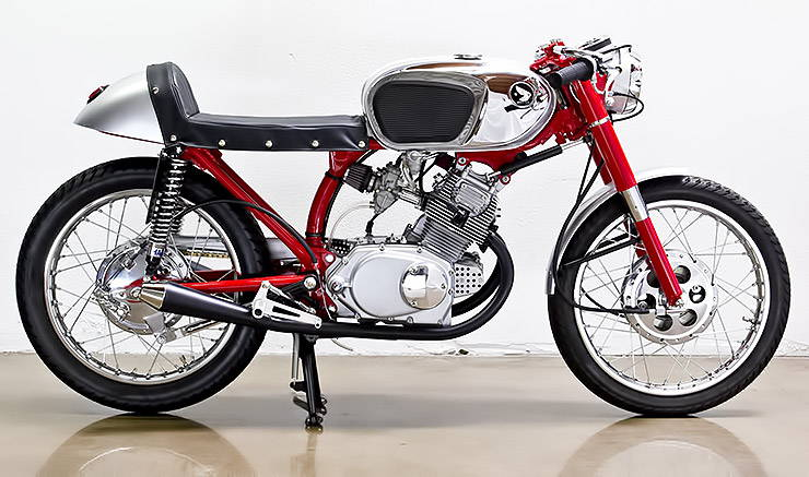 1966 Honda CB160 Poco Bastardo right