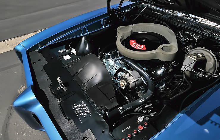 1969 Pontiac GTO Judge engine