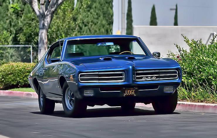 1969 Pontiac GTO Judge front
