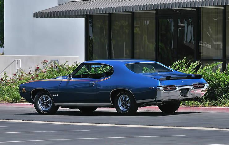 1969 Pontiac GTO Judge rear