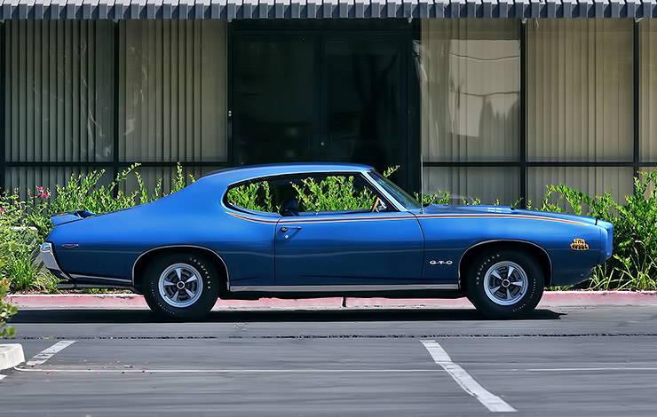 1969 Pontiac GTO Judge right side