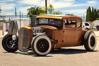 Chopped Top classic Hot Rod
