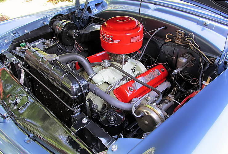 1954 Ford Crestline Skyliner motor