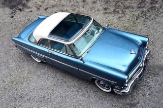 1954 Ford Crestline Skyliner top