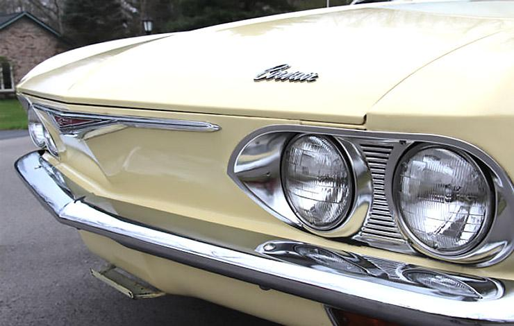 1966 Chevrolet Corvair front