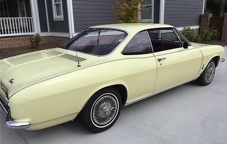1966 Chevrolet Corvair rear right