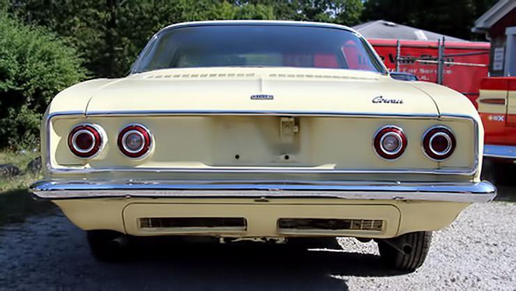 1966 Chevrolet Corvair rear